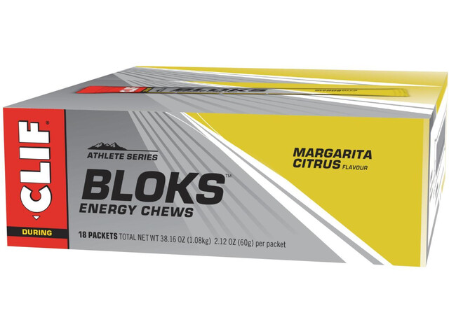 CLIF Bar Shot Bloks Box Margarita 18 x 60g